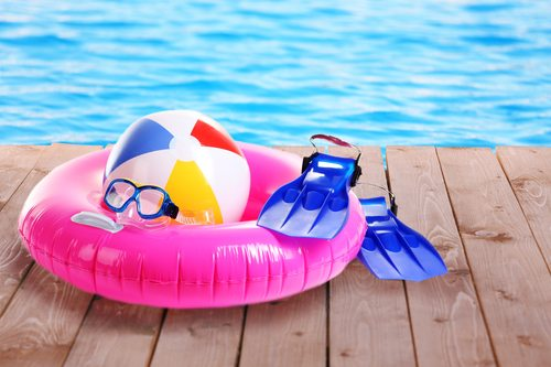 This year s must have pool accessories dolphin pools spas for Pool design must haves